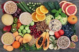 Healthy eating and food impact on body
