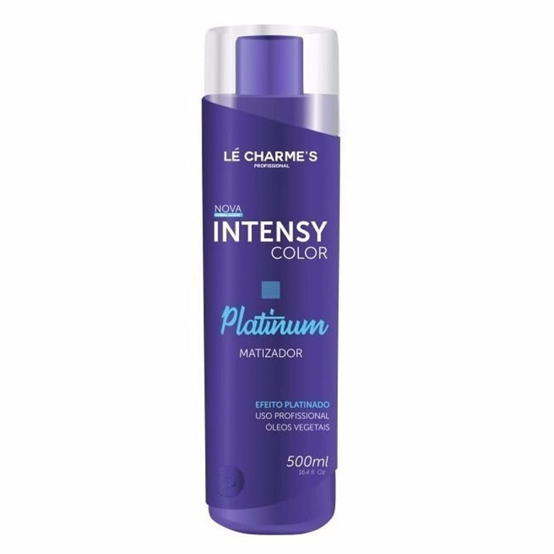Lé Charme's- Intensy Color Platinum Máscara Matizadora 500ml