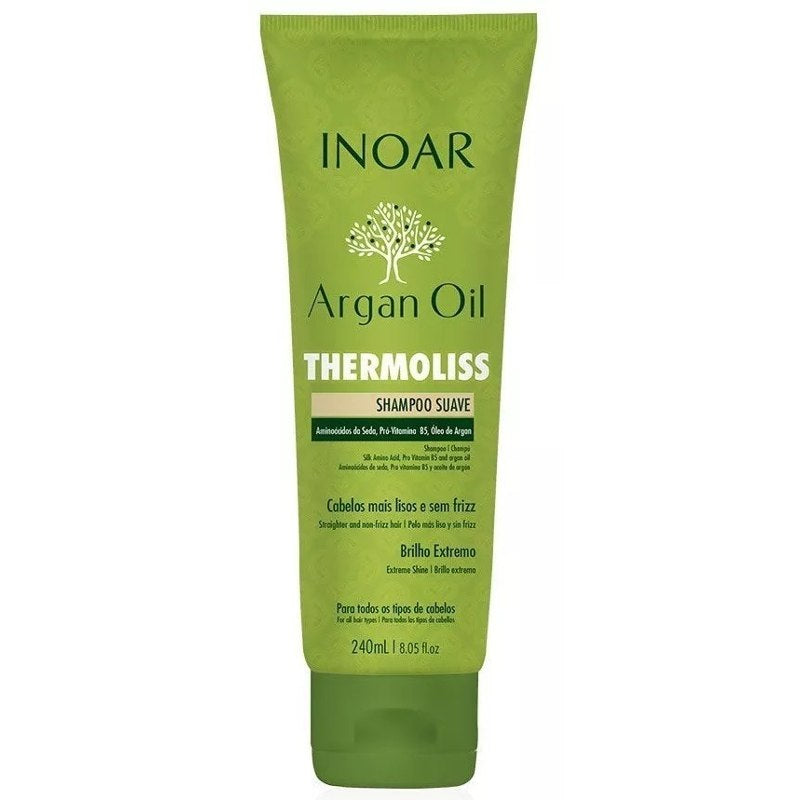 Inoar Shampoo Thermoliss Suave 240ml
