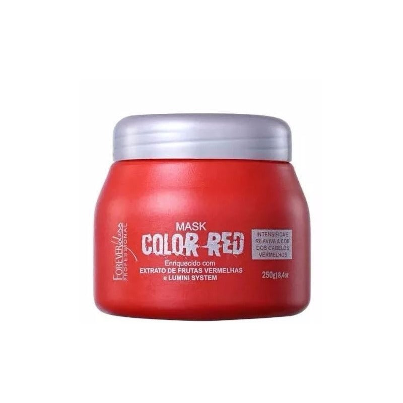 Máscara Color Red - Forever Liss 250g