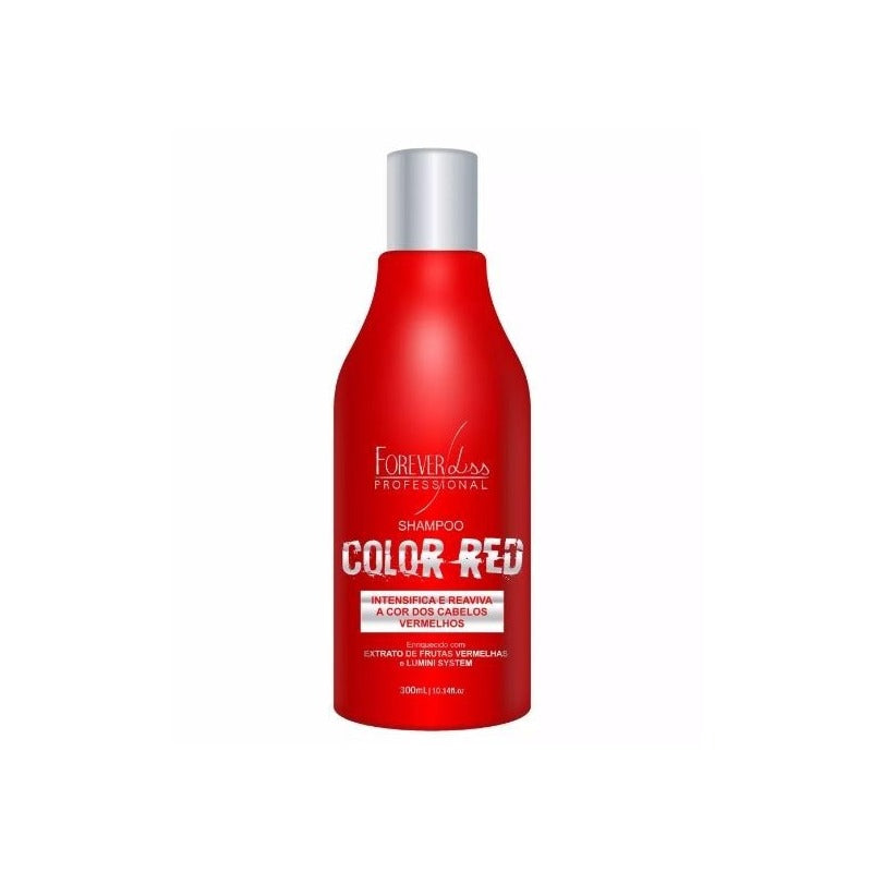Shampoo Color Red - Forever Liss 300ml