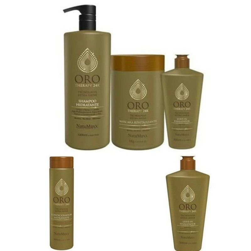 Kit Oro Therapy Profissional + Condicionador 300ml + Leavein