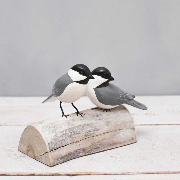 Chickadee Pair