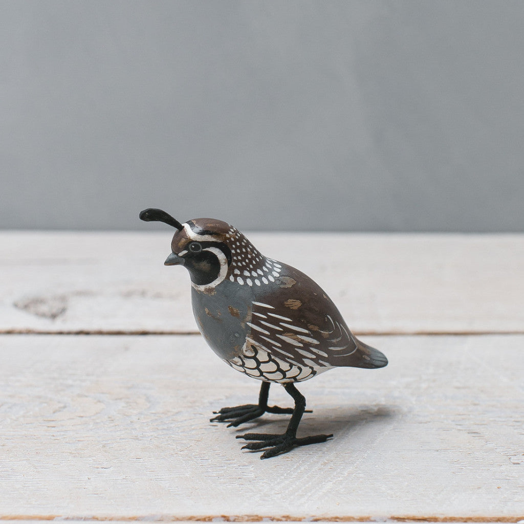 Mini California Quail