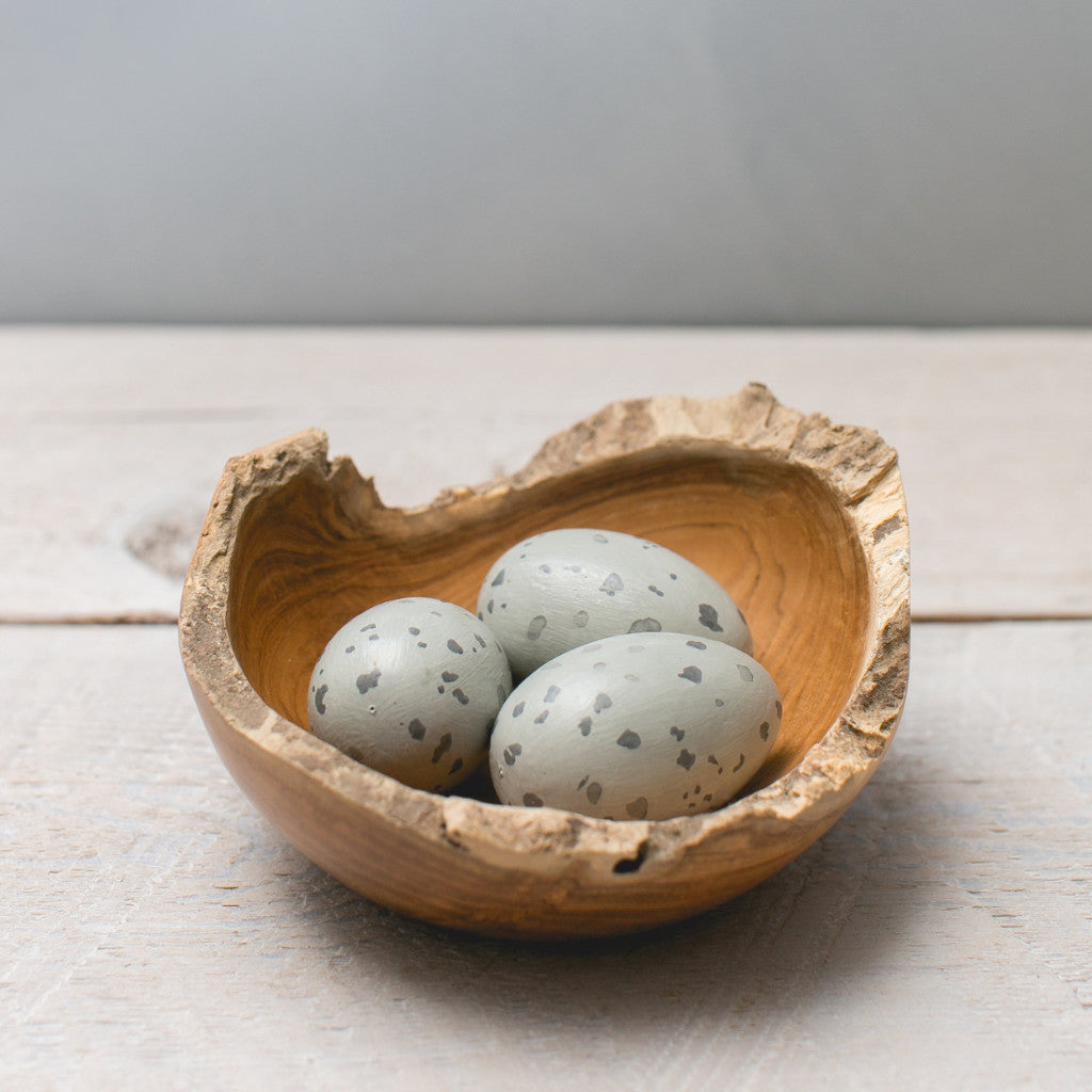Nest Bowl with Osprey Eggs