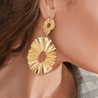 Irregular Gold Earrings