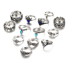 Cira Boho 13 Ring Set