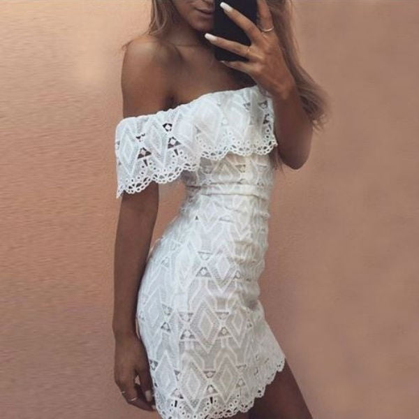 Perky Lace Dress