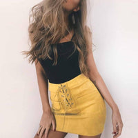 Blaire Suede Skirt