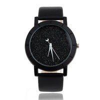 Moon Sequins Quartz Watch