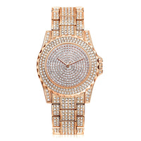 Bright Crystal Quartz Watch