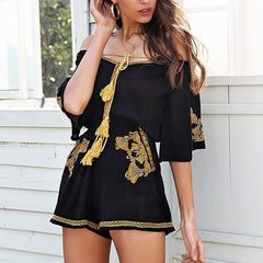 Kimber Embroidery Playsuit