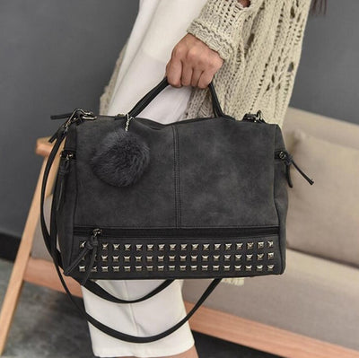 Grunge Leather Bag