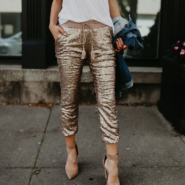 Verbena Sequin Pants