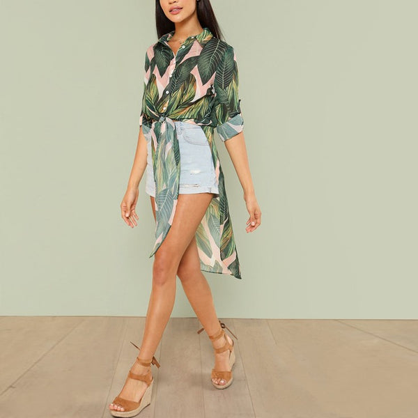 Delta Tropical Blouse