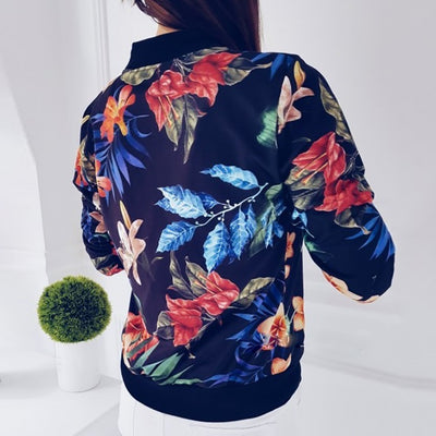 Germaine Floral Bomber Jacket