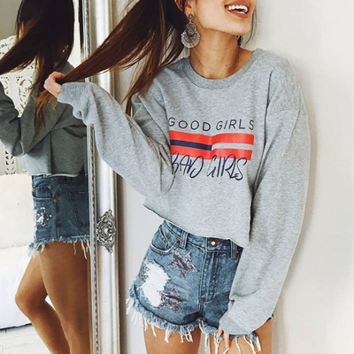 Good Girls Crop Sweater
