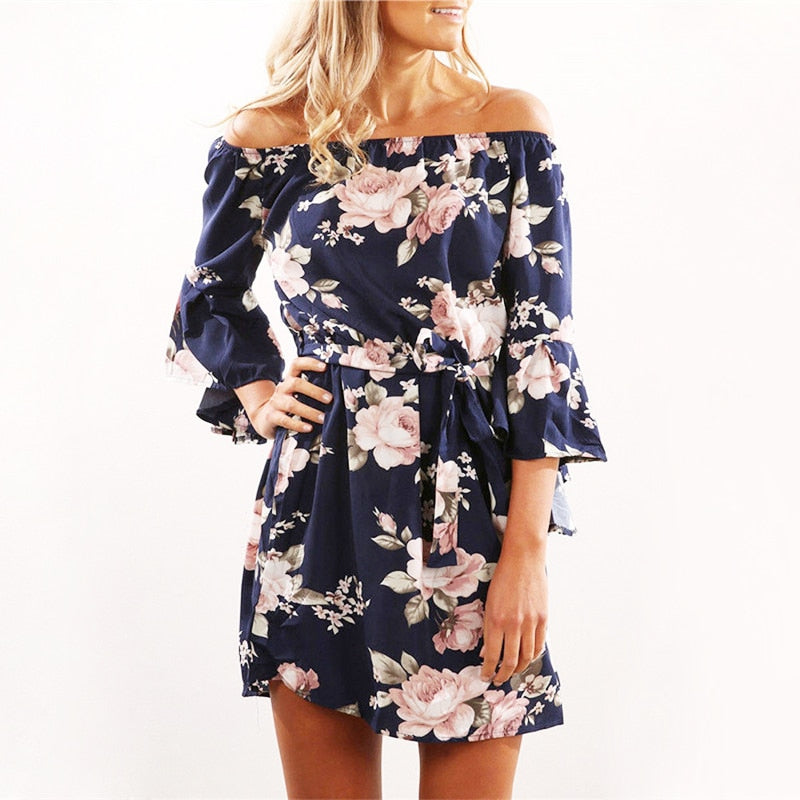 Cate Floral Dress