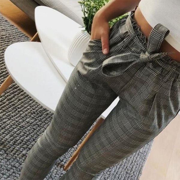 Antonella Plaid Pants