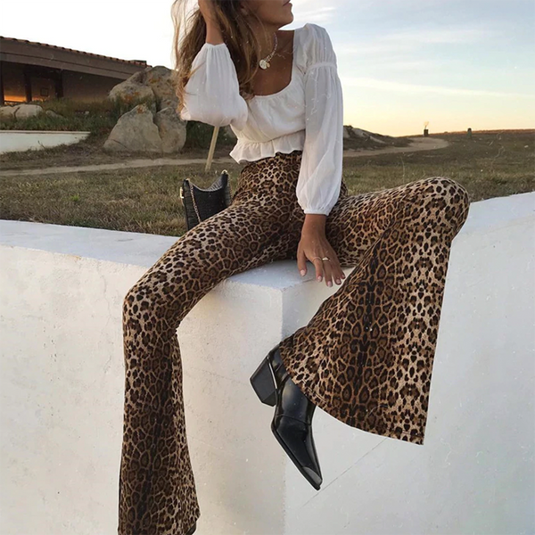 Mireya Animal Print Pants