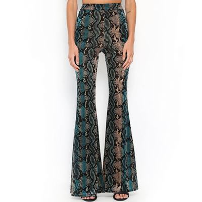 Nayra Animal Print Pants