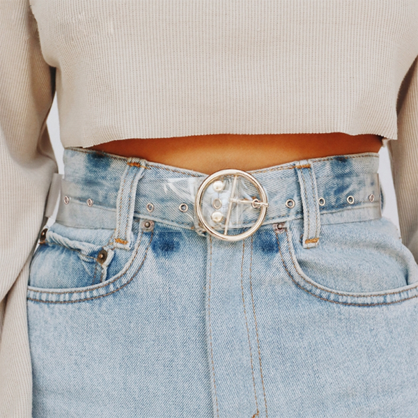 Gladys Clear Belt