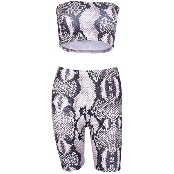 Kora Animal Print Two Pieces Set