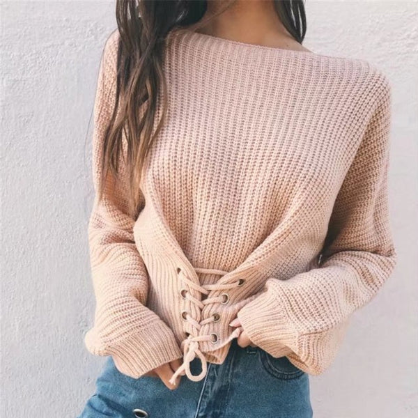 Lucy Braided Sweater