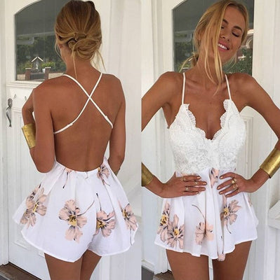 Sweet Flowers Playsuit