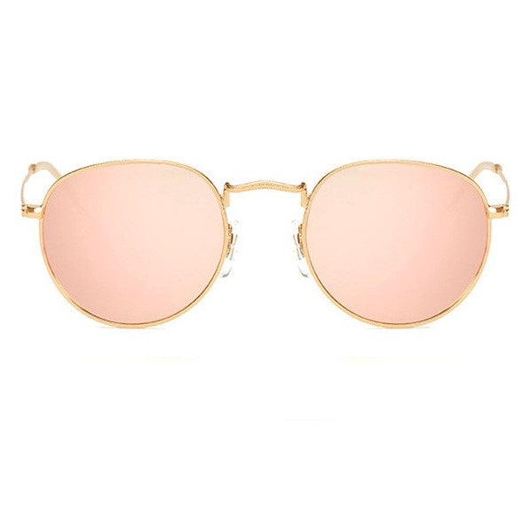Pink Reflective Sunglasses