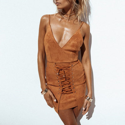 Sahara Suede Dress