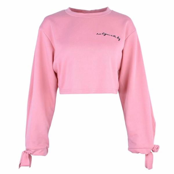 Not Baby Crop Sweater