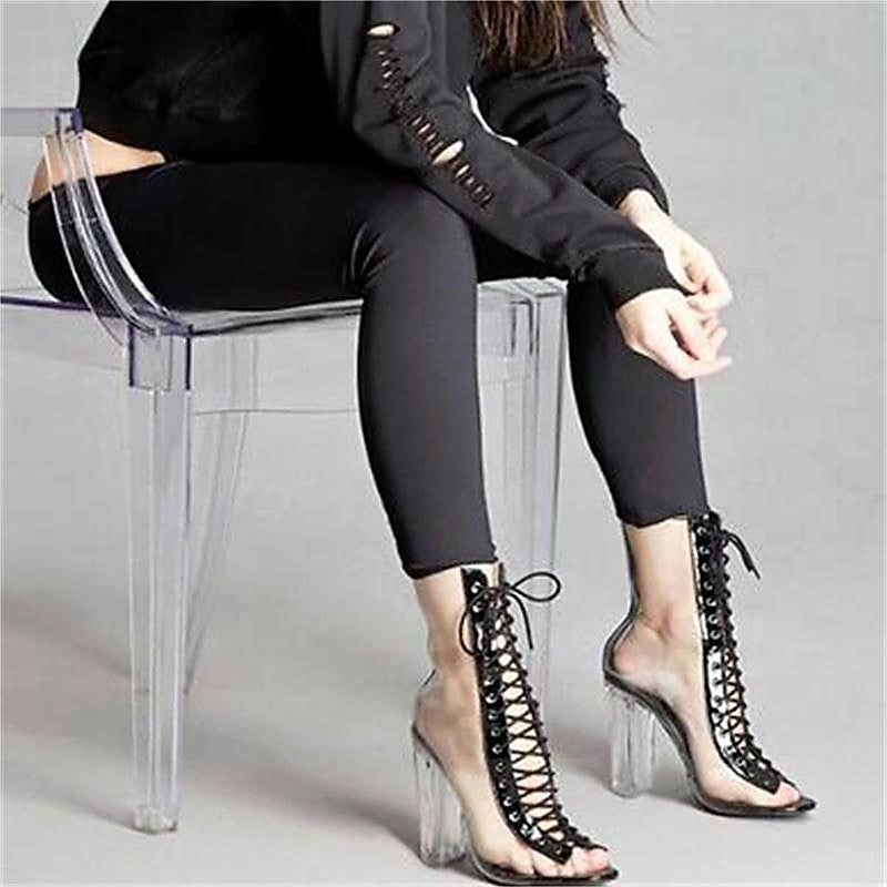 Gladiator Strappy Booties