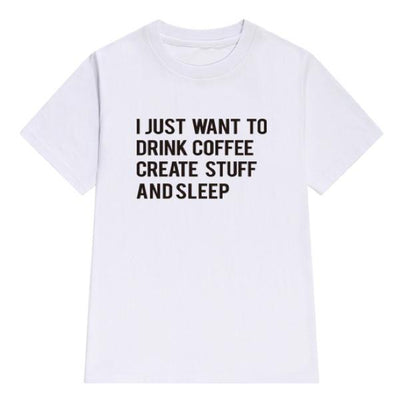 Coffee Stuff And Sleep T-Shirt