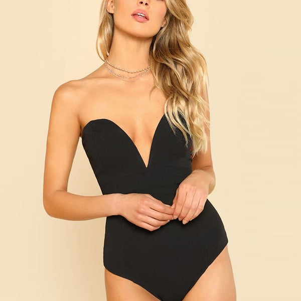 Hazel Sweetheart Bodysuit