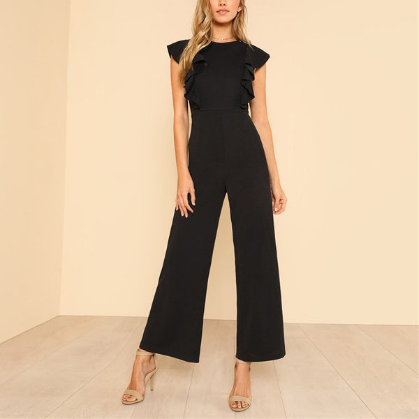 Emmy Ruffled Jumpsuit