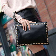Olivia Rivets Clutch