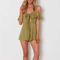Aria Bow Playsuit