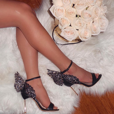 Butterfly Wings Heels