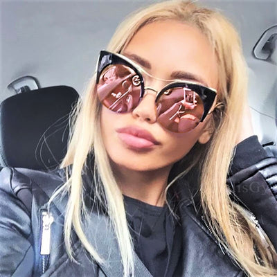 Alessia Cat Eye Sunglasses