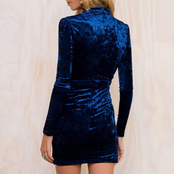 Spotlight Velvet Dress