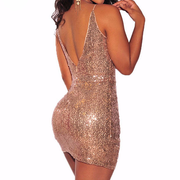 Hot Sequin Dress