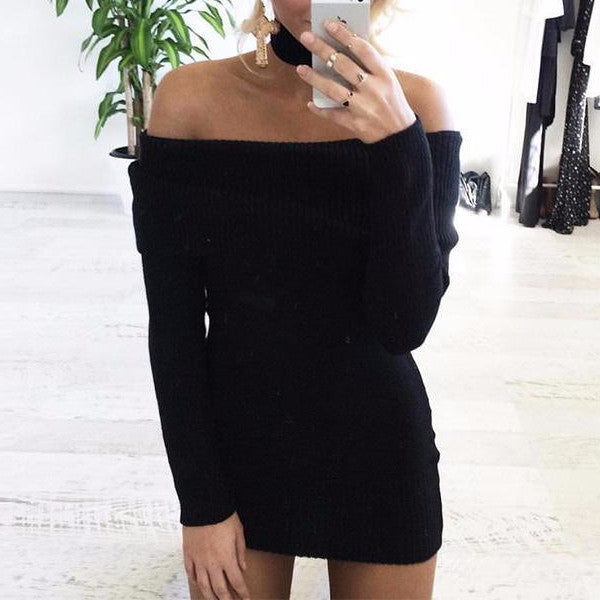 Gorgeous Knitted Mini Dress