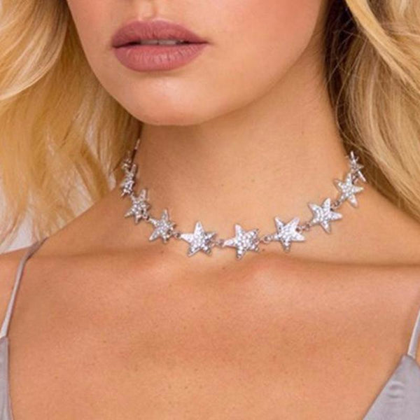 Star Choker Necklace