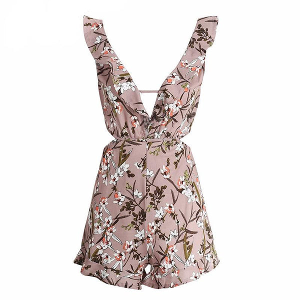 Isla Floral Playsuit