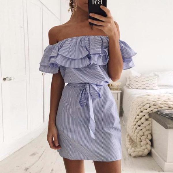 Barbara Ruffles Dress
