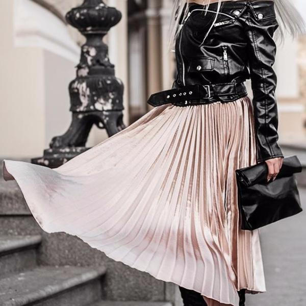Evie Pleated Skirt