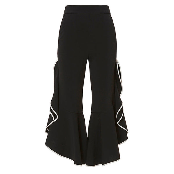 Alia Ruffle Crop Pants