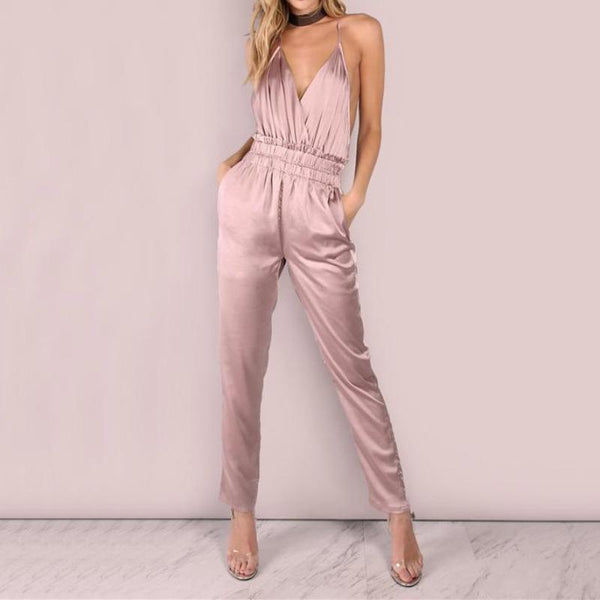 Satin Dream Jumpsuit
