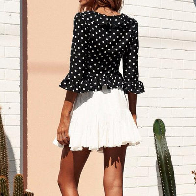 Paulene Dots Blouse